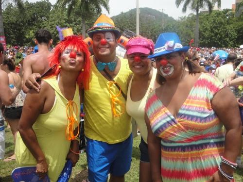 Rio de Janeiro Carnival Clowns