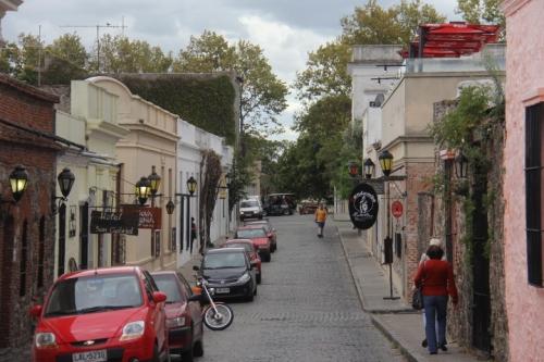 Colonia Cobble Stone Street