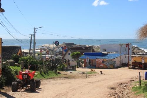Restaurant Road in Punta del Diablo