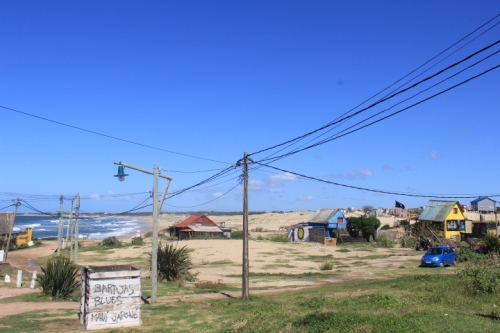 Punta del Diablo Beach and Beach Huts